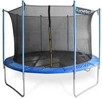 Kinetic Sports Trampolin 370 cm inkl. Sicherheitsnetz