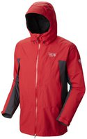 Mountain Hardwear Men's Exposure II Parka Mountain Red / Shark