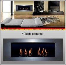 DF-Shopping Ethanolkamin Gelkamin Kamin Modell Tornado Silber