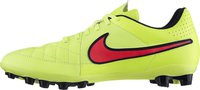 Nike Tiempo Genio LTR AG volt/metallic gold coin/hyper punch