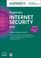 Kaspersky Internet Security 2015 Upgrade (3 User) (1 Jahr) (DE) (Win) (FFP)