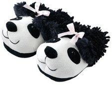 Aroma Home Fuzzy Friends Slippers Panda