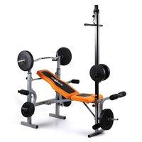 Klarfit Ultimate Gym 3500 Kraftstation Hantelbank Latissimus Arm-/Beincurler