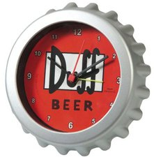 United Labels Simpsons Alarm Clock Duff Beer