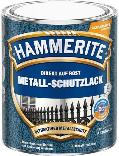 Hammerite Metall-Schutzlack Hammerschlag 2,5 Liter (verschiedene Farben)