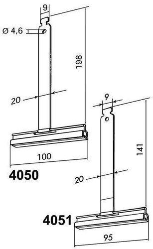 Rademacher Befestigungsfeder 190 mm (4050)