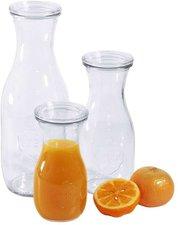 Contacto Weck®-Saftflaschen mit Glasdeckel