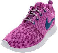 Nike Roshe Run Wmns red violet/green abyss/wolf grey/white