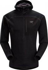 Arcteryx Konseal Hoody 3/4 Zip Men's Black