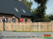 Jorkisch Holstein 95 Lattenzaun Lärche BxH: 200 x 80 cm