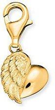 Engelsrufer Herz mit Flügel gold (ERC-HEART-G)