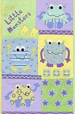 Livingwalls pop.up Panel Little Monster grün