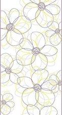 Livingwalls pop.up Panel Blume silber gelb