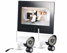 VisorTech Digitales Überwachungssystem DSC-720.mc mit 2 HD-Kameras