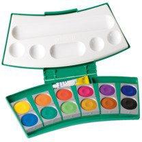 Pelikan Pro Color 24 Deckfarbkasten grün