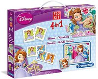 Clementoni Edukit 4 in 1 - Sofia the First