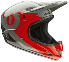 Sixsixone Rage Helmet Black-Red