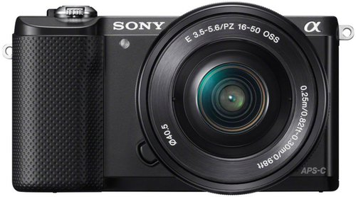 Sony Alpha 5000 Kit 16-50 mm (schwarz) (ILCE-5000LB)