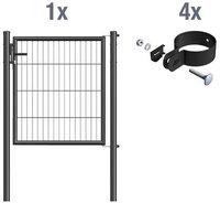 GAH Stabgitter-Einzeltor Garden BxH: 100 x 125 cm