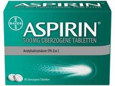 Bayer Aspirin 500 mg überzogene Tabletten (40 Stk.)