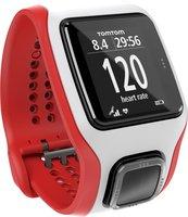 TomTom Multi-Sport Cardio GPS weiß/rot