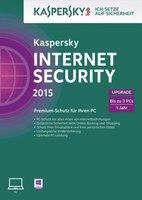 Kaspersky Internet Security 2015 Upgrade (3 User) (1 Jahr) (DE) (Win) (ESD)