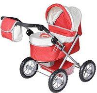 Knorr Puppenwagen One red vanilla