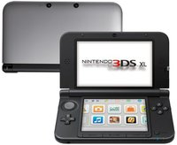 Nintendo 3DS XL silber-schwarz