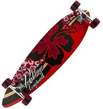 Voltage Skateboards Pintail longboard Hibiscus