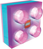 Universal Trends Legostein Led Nachtlicht pink
