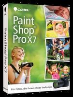 Corel PaintShop Pro X7 (DE) (Win) (Box)
