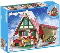 Playmobil Christmas - Zuhause beim Weihnachtsmann (5976)