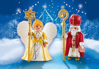 Playmobil Christmas - St. Nikolaus und Weihnachtsengel (5592)