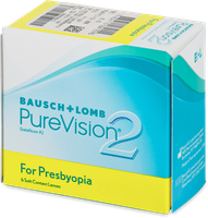 Bausch & Lomb PureVision 2 for Presbyopia -10,00 (6 Stk.)