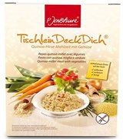 P. Jentschura Tischlein Deck Dich Quinoa-Hirse-Mahlzeit mit Gemüse (800 g)