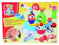 Simba Art & Fun Knetset Cupcake