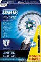 Oral-B Pro 4500 Black mit 2. Handstück