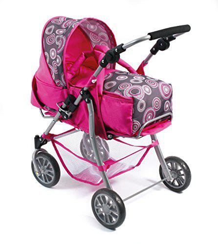 Bayer Chic Kombi-Puppenwagen Exchange hot pink pearls
