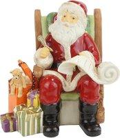 Goebel Weihnachtsmann Alle Geschenke sind verpackt
