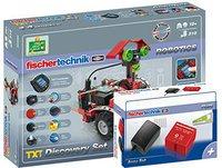 Fischertechnik Robotics TXT Discovery Set und Akku-Set