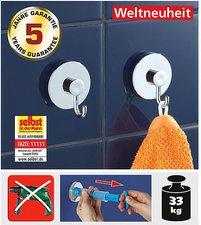 Wenko Vacuum Loc Wandhaken (2 Stk.)