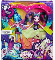 Hasbro My Little Pony Equestria Girls Rainbow Rocks Sonata Dusk & Aria Blaze