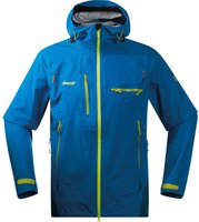 Bergans Storen Jacket Men Light Sea Blue / Deep Blue / Lime
