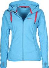 Bergans Sandoya Lady Jacket Bright Sea Blue / Hot Red
