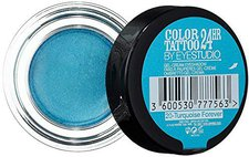 Maybelline Color Tattoo 24HR Gel-Creme Lidschatten - 20 Turquoise (4,5 ml)