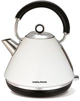 Glen Dimplex Morphy Richards 102005 Accents Traditional Kettle White