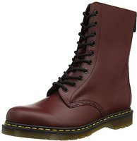 Dr. Martens Vintage 1490 10 Eye Boot cherry red