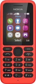 Nokia 130 Dual SIM Rot ohne Vertrag