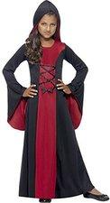 Smiffys Kinderkostüm Hooded Vamp Robe
