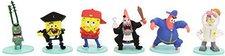 Abysse Corp. Spongebob Squarepants 6 mini Figure Collection